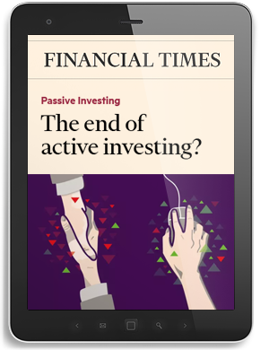 The end of active investing